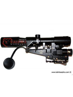 POSP 3-9x42 (1P21) Zoom Rifle Scope, Universal AK & SVD Version