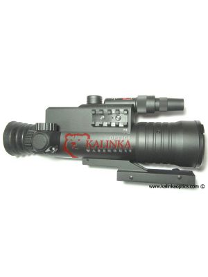 NS-XDM High Powered Night Vision Rifle Scope with Infrared Illuminator, Weaver Mount