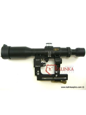 POSP 3-9x42 Zoom Rifle Scope 1000 Meter Rangefinder AK Version