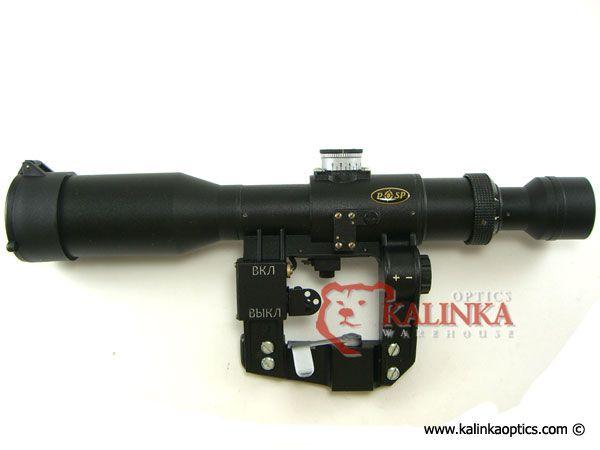 POSP 3-9x42 1000m Rangefinder, SVD