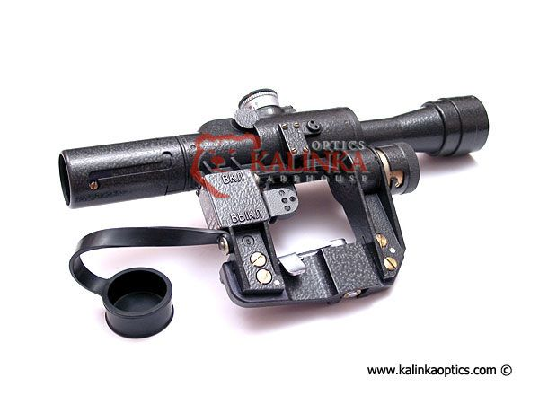 POSP 4x24 Rifle Scope, 400m Rangefinder, SVD
