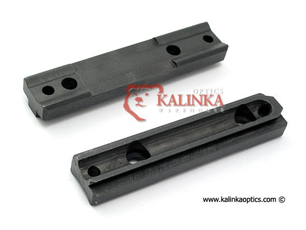 Mosin-Nagant Curved/Hex Receiver Universal Side Mounting Rail for  AK/SKS/SVD Side Mounts