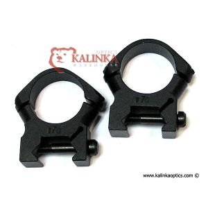 MOLOT 30 mm Super Low Profile Rings for Weaver and Picatinny Rails