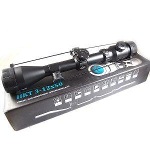 CTS 3-12x50 Multipurpose Collimator Scope, Illuminated Reticle