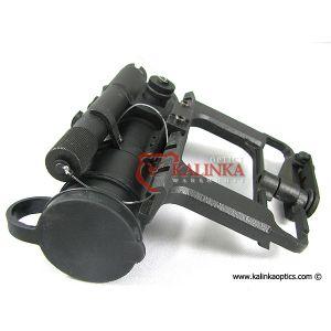 Original PK-01 V Military Red Dot Rifle Weapon Scope w/ Brightness Adjustment, Detachable AK Side Mount and Standard 30 mm Tube