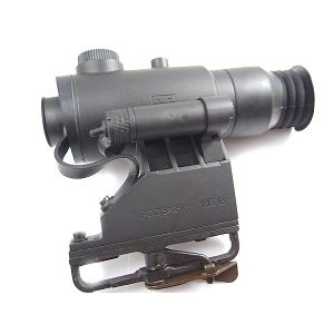 PO 3.5x21P Tactical Wide Angle Sight w/ AK-74 BDC and Rangefinding Reticle, Universal AK/SKS/SVD Version