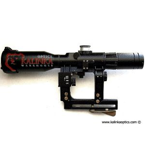 POSP 8x42 D VariPOSP Rifle Scope, 1000m Rangefinder, Focus, AK