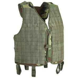 Splav Tarzan M37 MOLLE Sniper Vest, Black w/ Kodra-1000 Shoulders